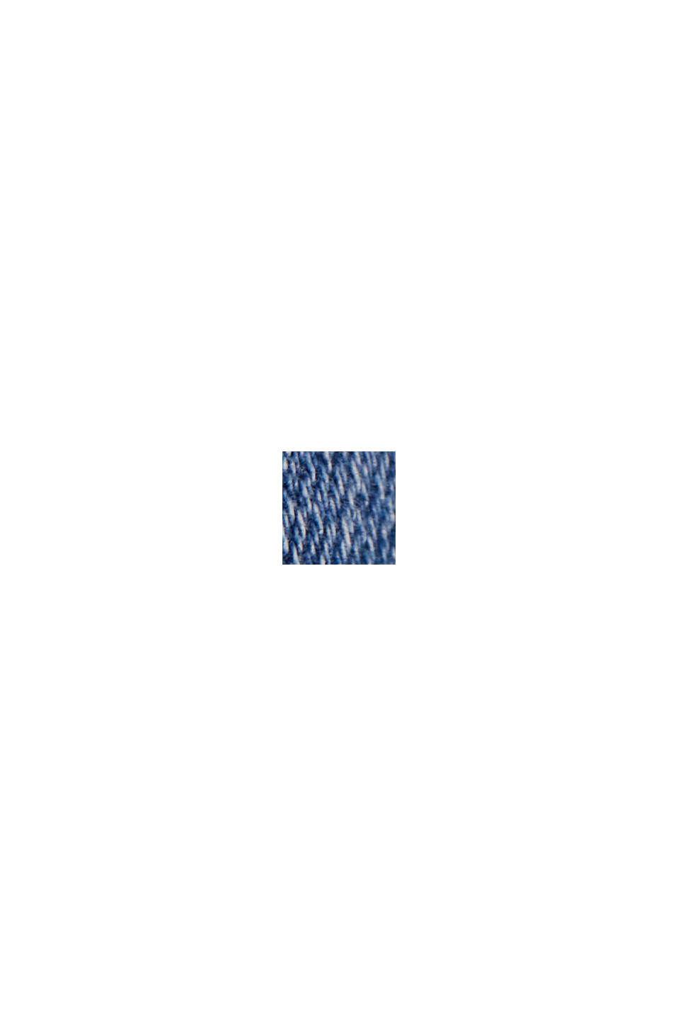 Stretchjeans i ekologisk bomull, BLUE MEDIUM WASHED, swatch