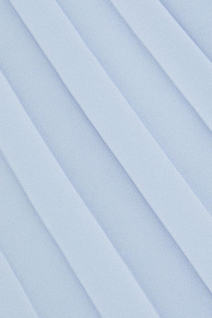 En matière recyclée: la jupe plissée, PASTEL BLUE, detail image number 4
