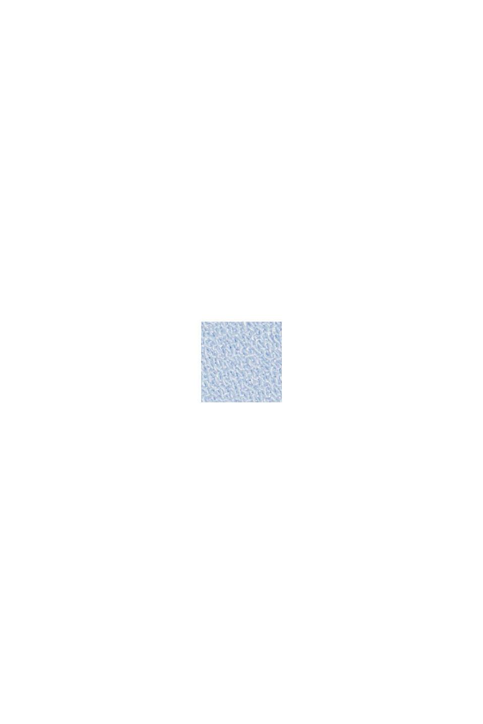 Genanvendte materialer: plisseret nederdel, PASTEL BLUE, swatch