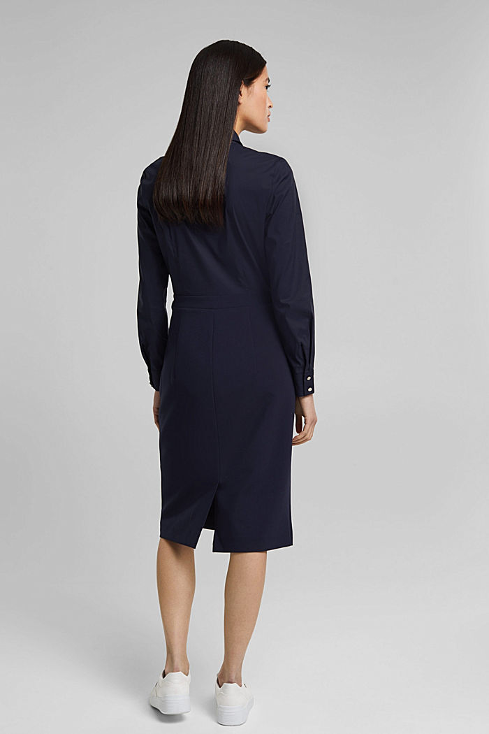 Shirt dress in a two-piece look, NAVY, detail image number 3