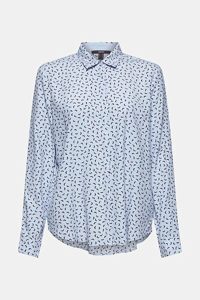 Blusa con estampado minimalista, LENZING™ ECOVERO™