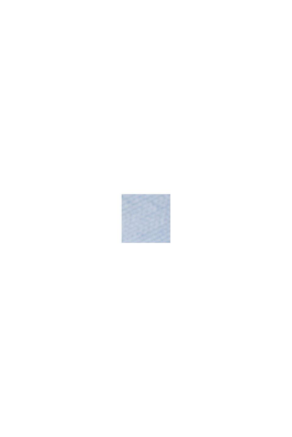 Bluse mit Minimal-Print, LENZING™ ECOVERO™, PASTEL BLUE, swatch