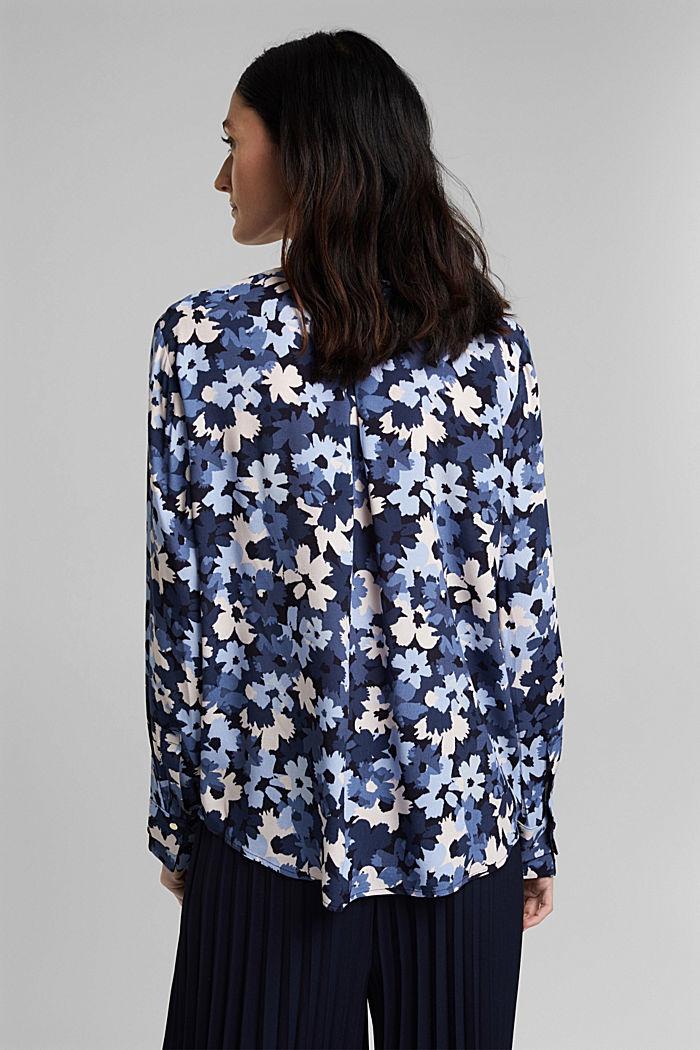 Tunikowa bluzka zLENZING™ ECOVERO™, NAVY, detail image number 3
