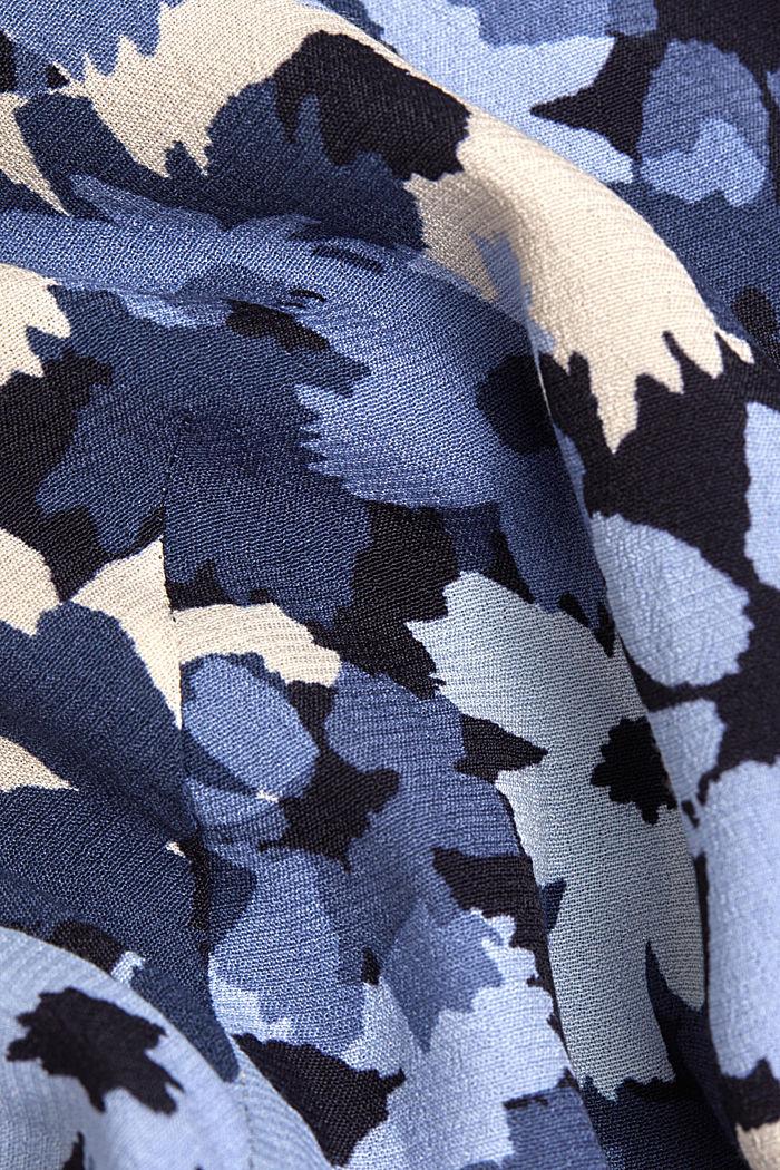 Tunikowa bluzka zLENZING™ ECOVERO™, NAVY, detail image number 4