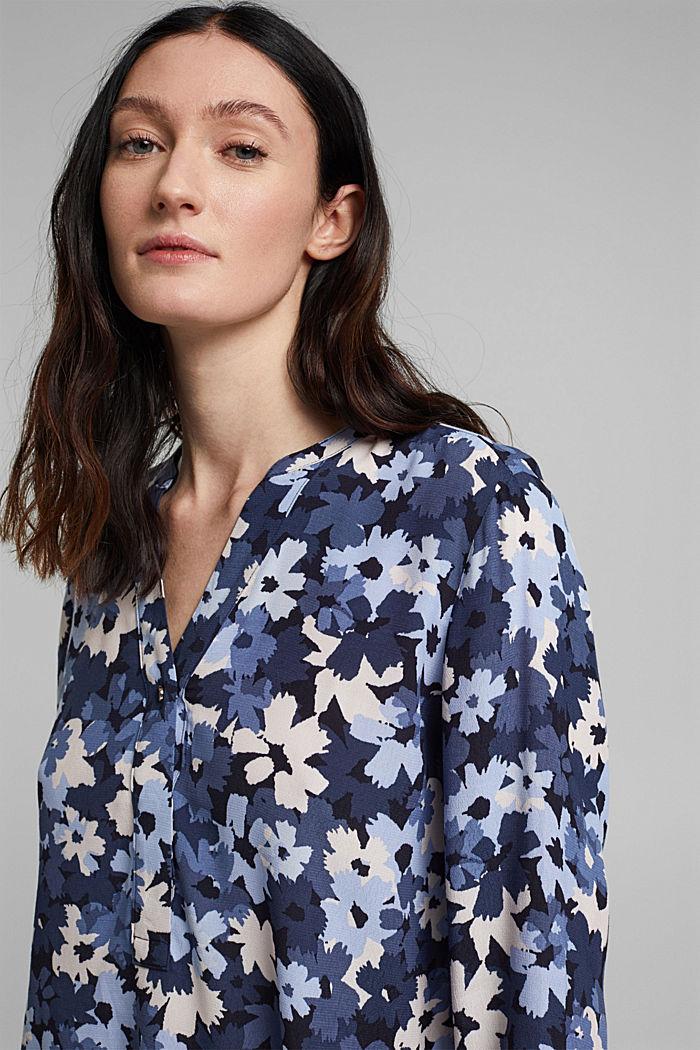 Tunika-Bluse aus aus LENZING™ ECOVERO™