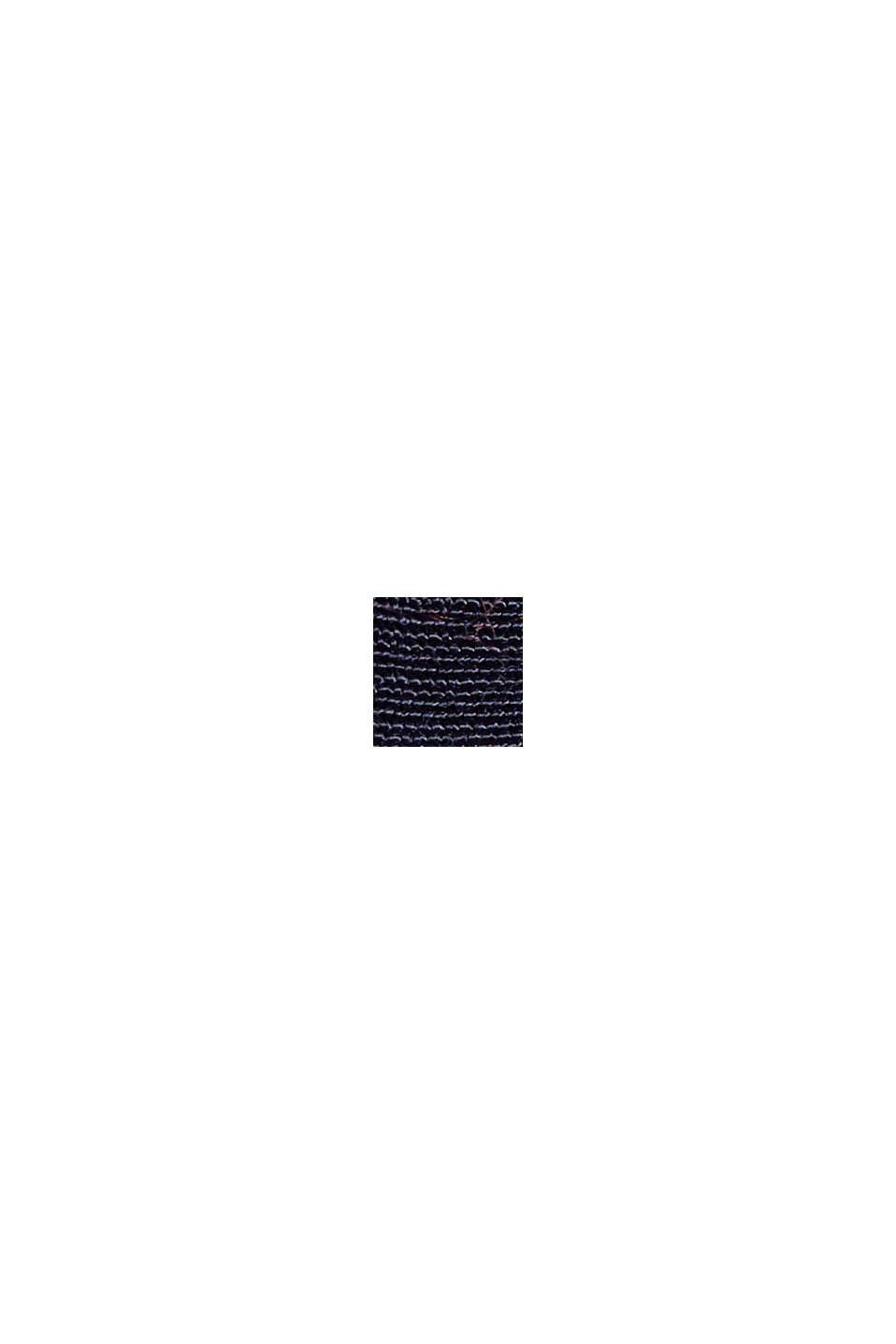 Henley-Bluse mit Layer-Details, NAVY, swatch