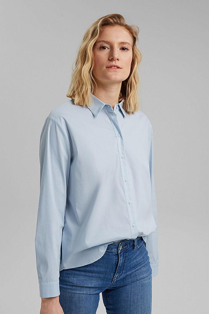 Hemdbluse mit Kellerfalte im Rücken