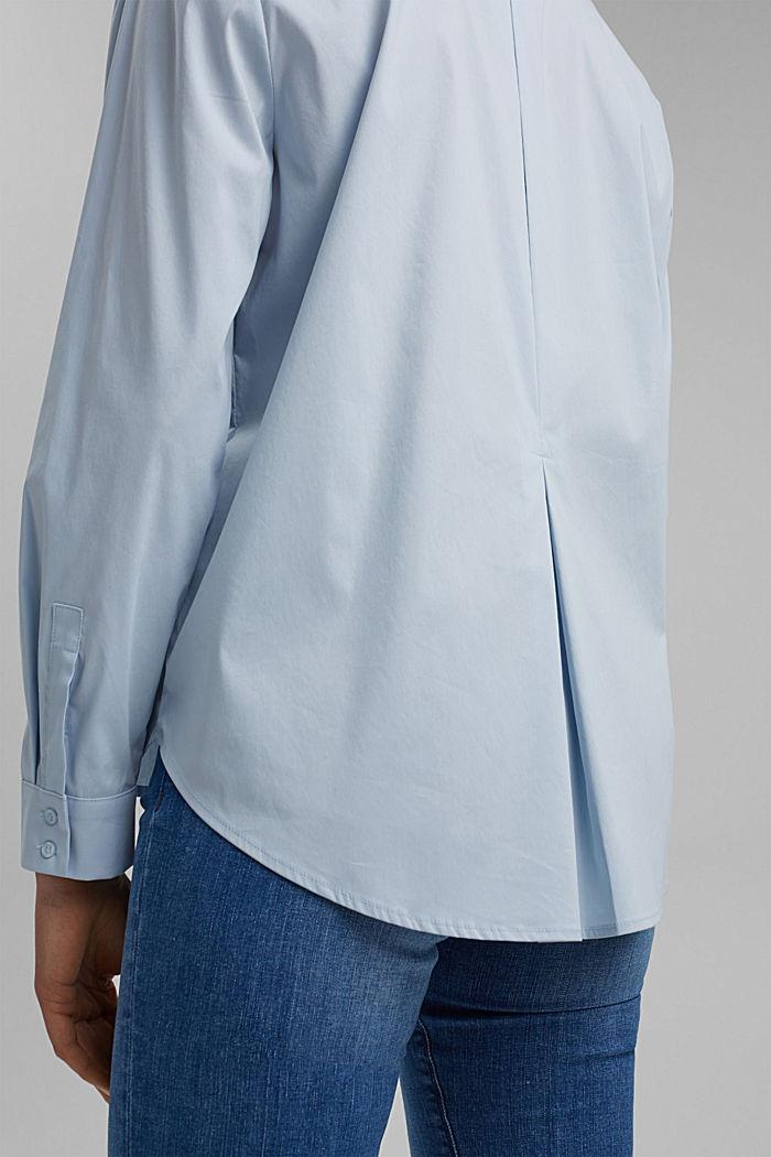 Hemdbluse mit Kellerfalte im Rücken, LIGHT BLUE, detail image number 2
