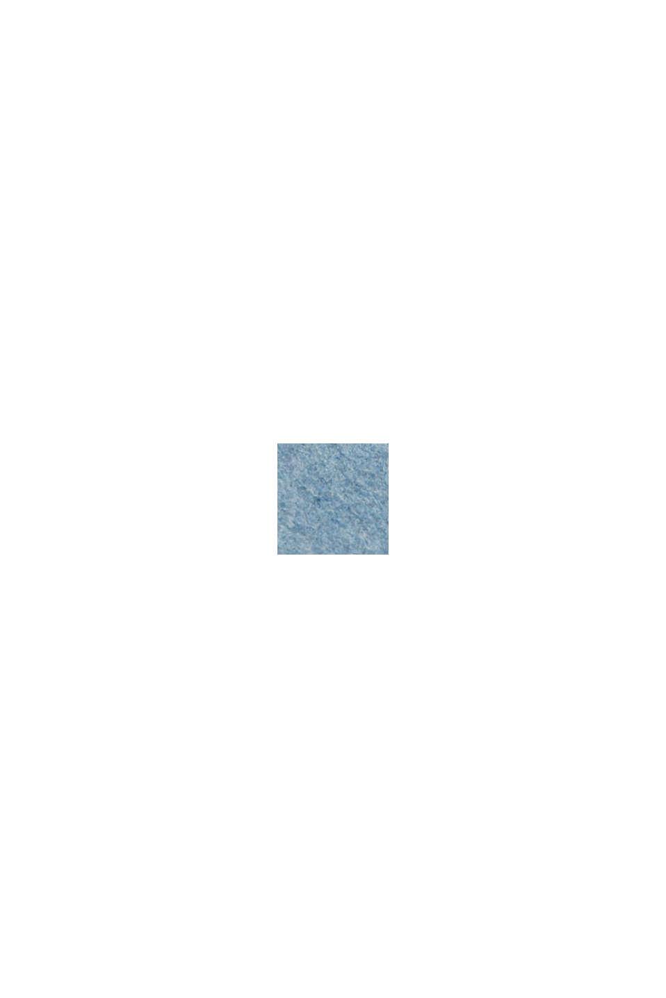 Med ull: dubbelsidig kappa, LIGHT BLUE, swatch