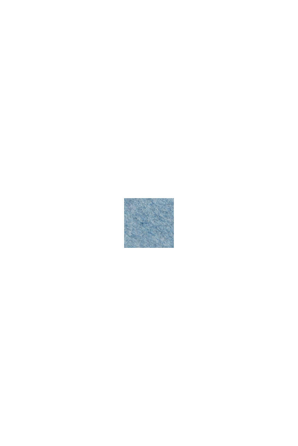 Met wol: double face mantel, LIGHT BLUE, swatch