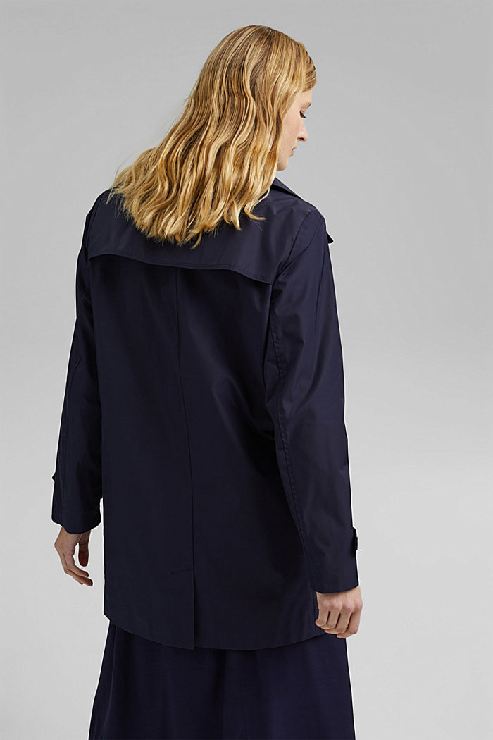 Recycled: Jacket, NAVY, detail image number 3