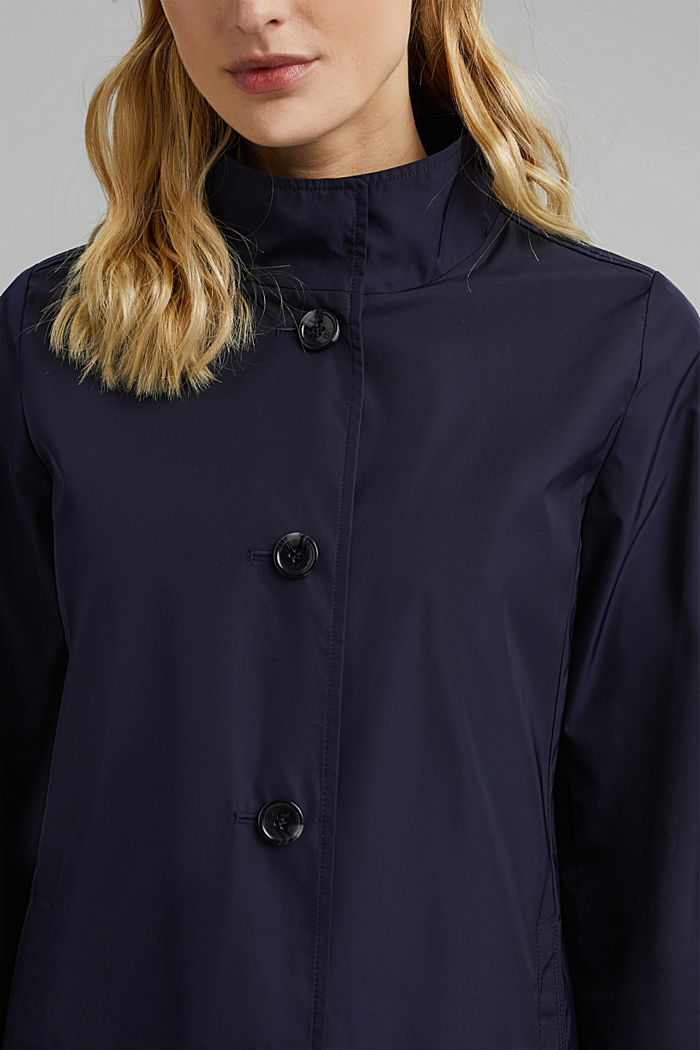 Recycled: Jacket, NAVY, detail image number 2