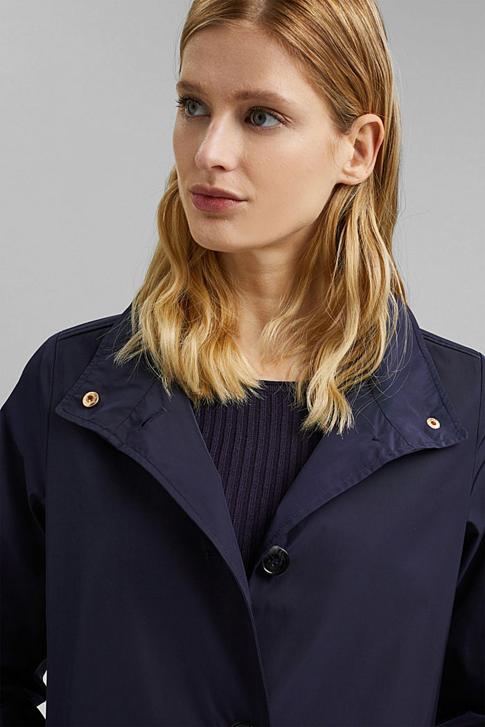 Recycled: Jacket, NAVY, detail image number 5
