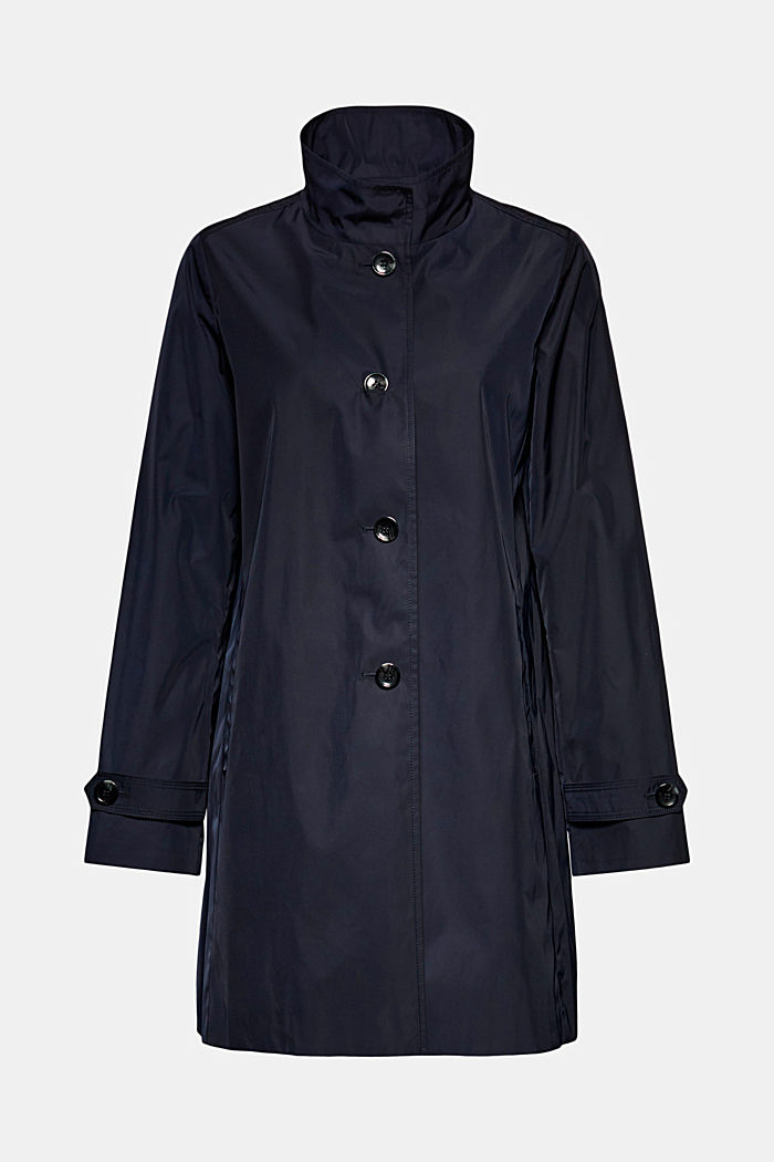 Recycled: Jacket, NAVY, detail image number 6