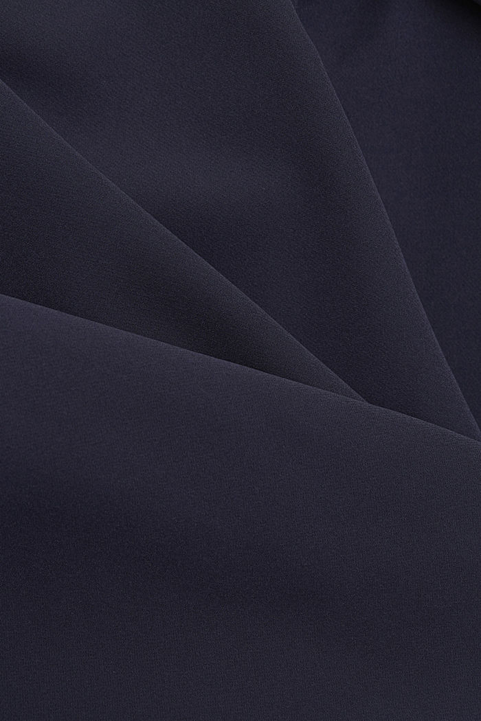 Long-Blazer mit Stretchkomfort, NAVY, detail image number 4