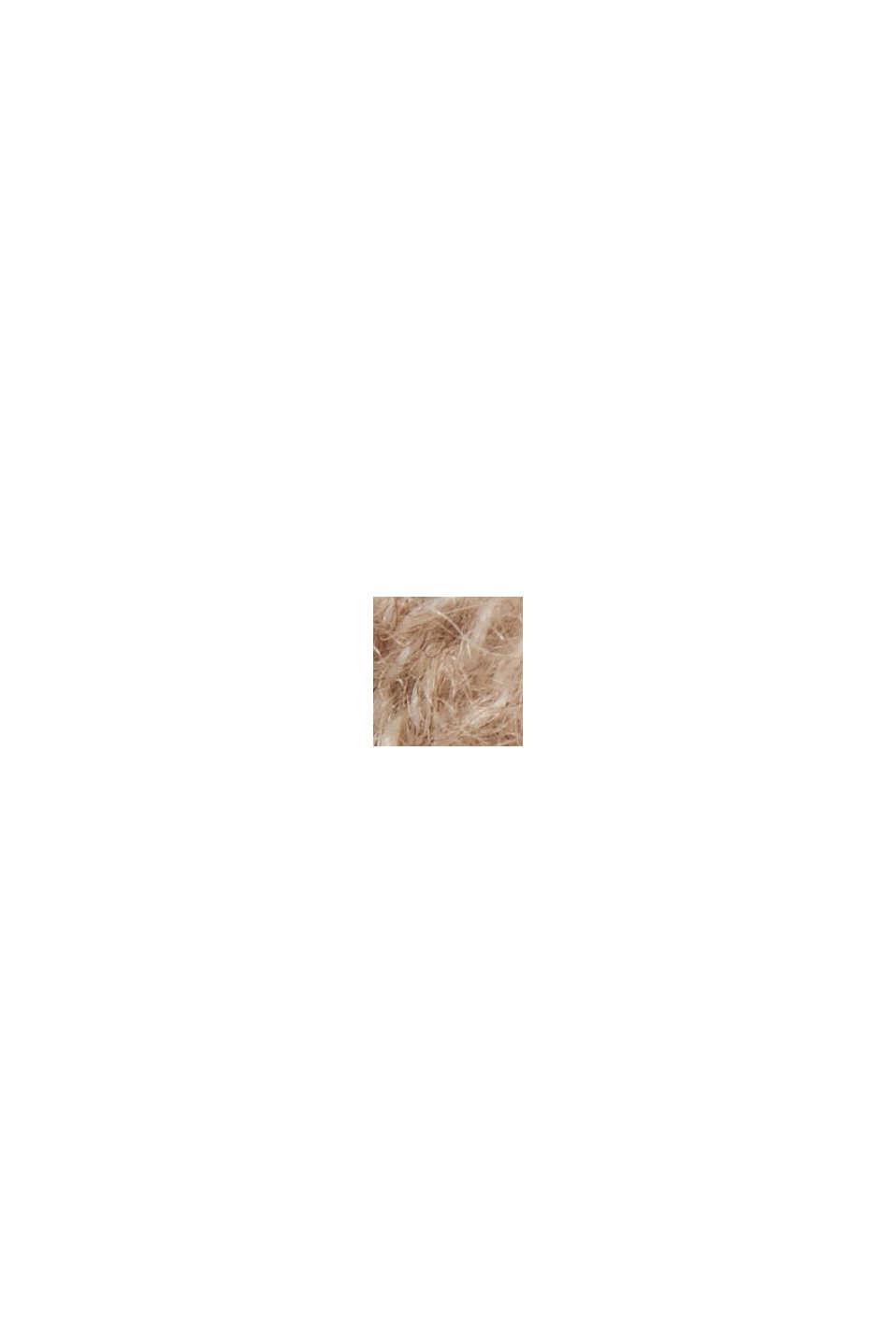 Sis. alpakkaa: neulepusero villasekoitetta, SAND, swatch