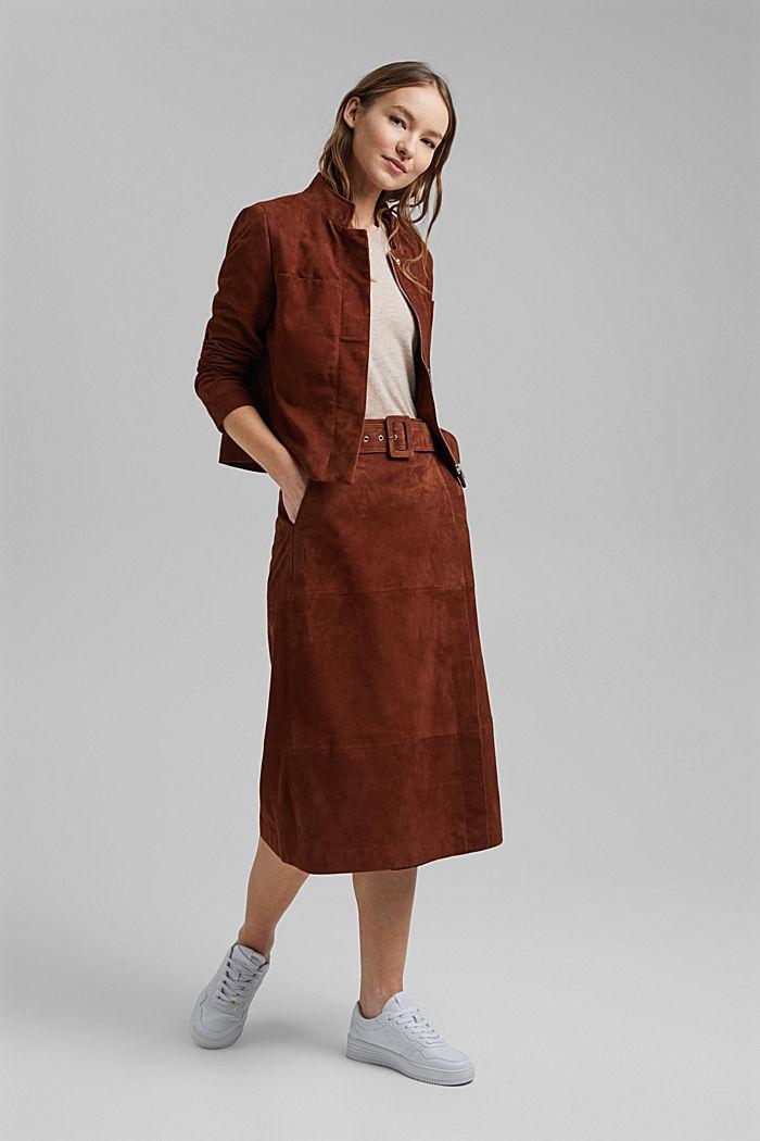 Cashmere blend: Short-sleeved jumper, SAND, detail image number 0