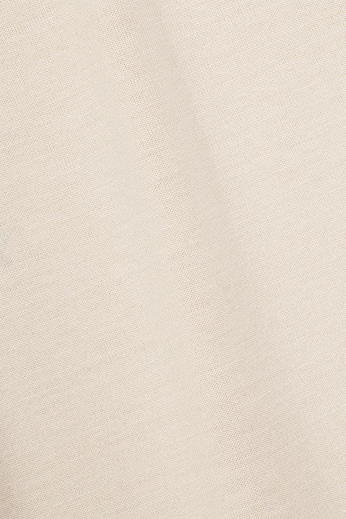 T-Shirt aus 100% LENZING™ ECOVERO™, CREAM BEIGE, detail image number 4