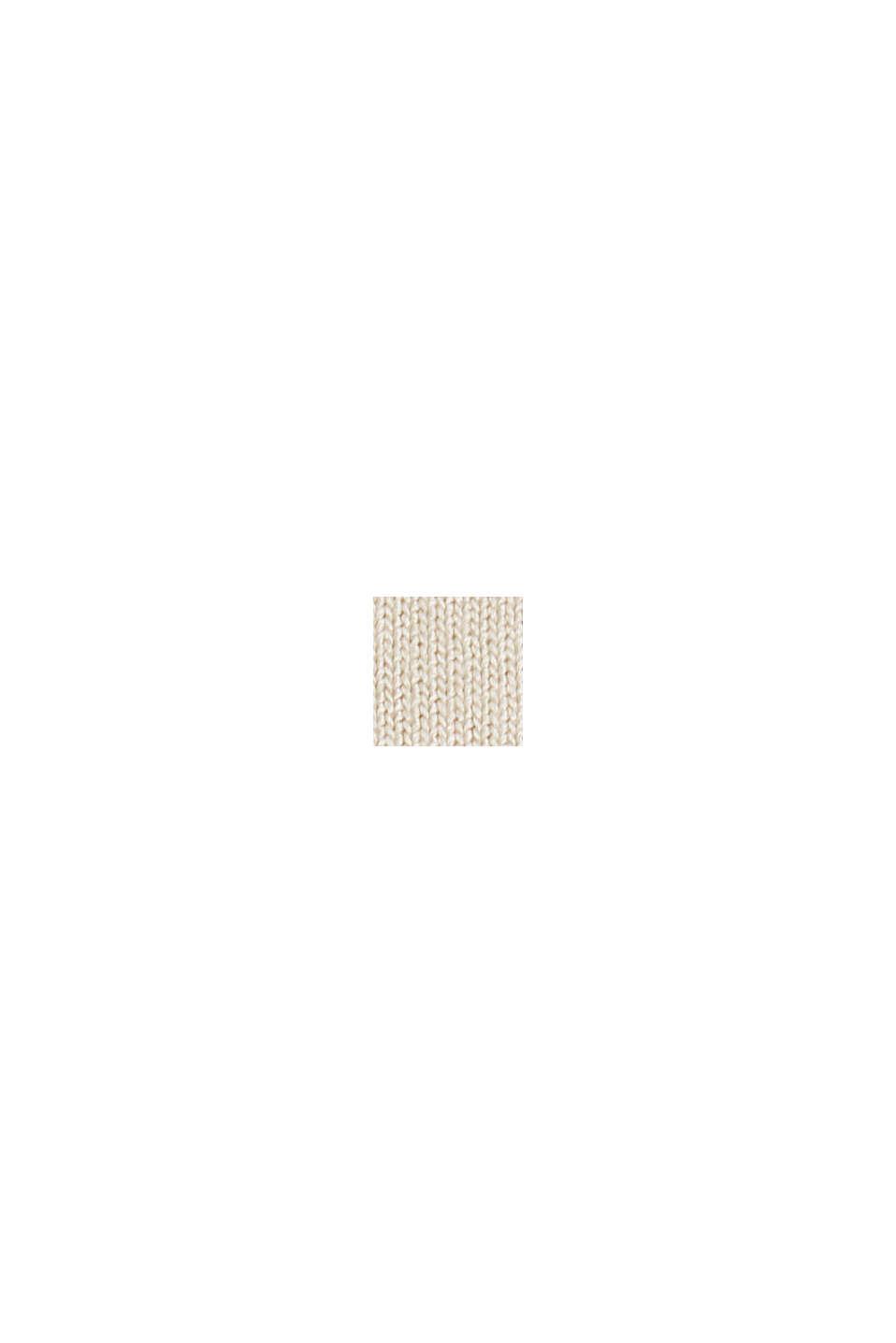 Maglia a maniche lunghe in stile blusa, LENZING™ ECOVERO™, CREAM BEIGE, swatch
