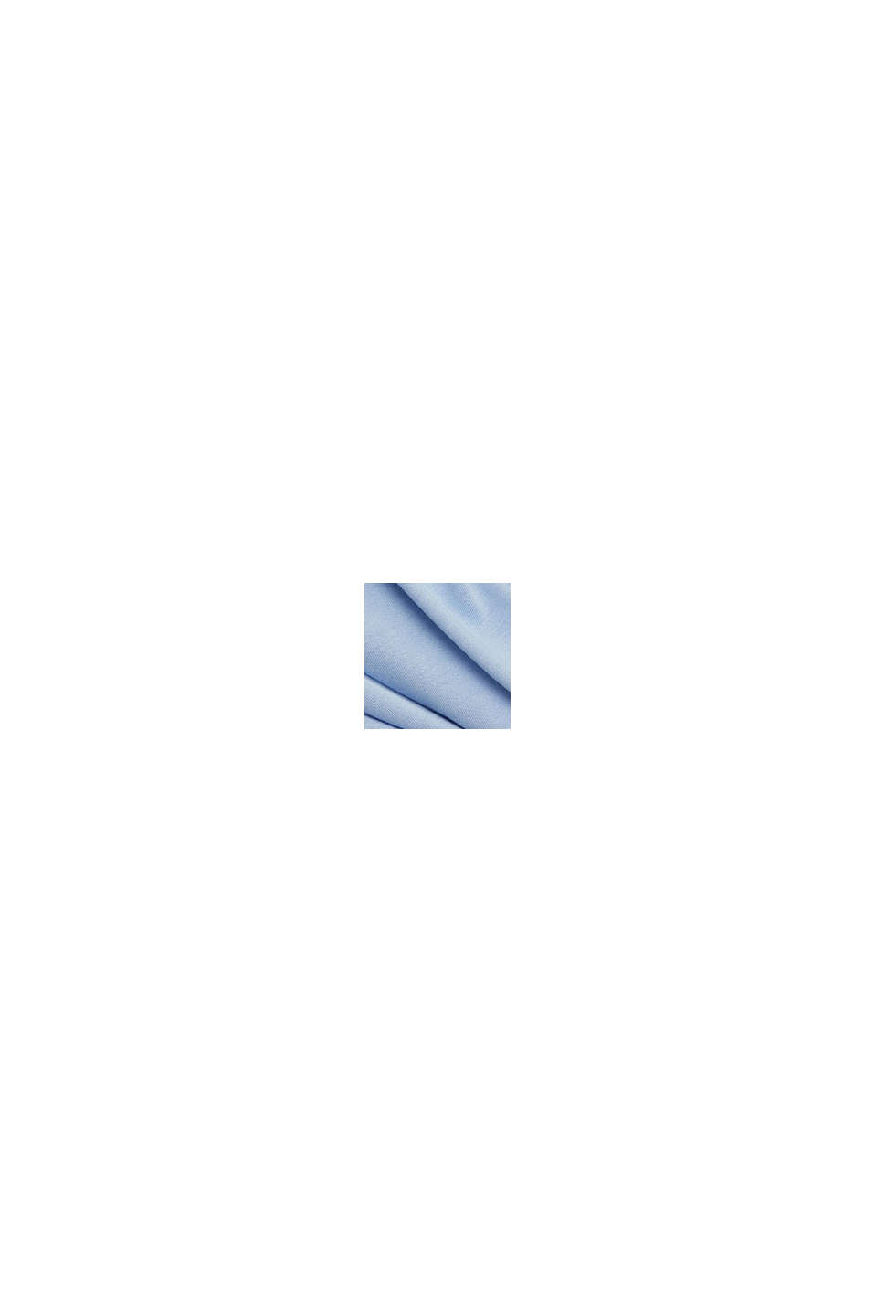 Maglia a maniche lunghe in stile blusa, LENZING™ ECOVERO™, PASTEL BLUE, swatch