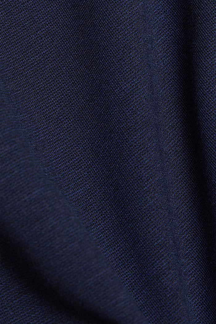 Longsleeve aus LENZING™ ECOVERO™, NAVY, detail image number 4