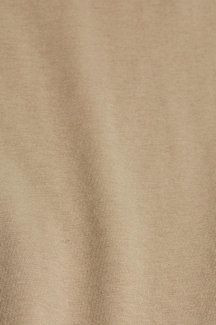 Bastopp i 100% ekologisk bomull, LIGHT KHAKI, detail image number 4