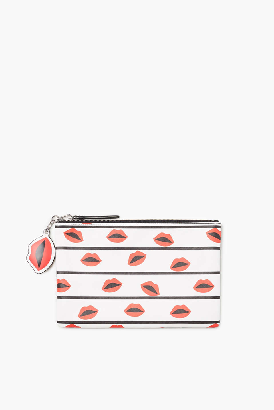 edc - Clutch met rits en coole prints