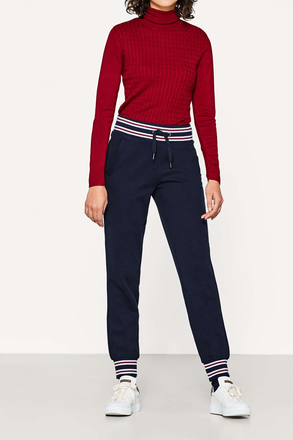 edc - Tracksuit bottoms, striped borders