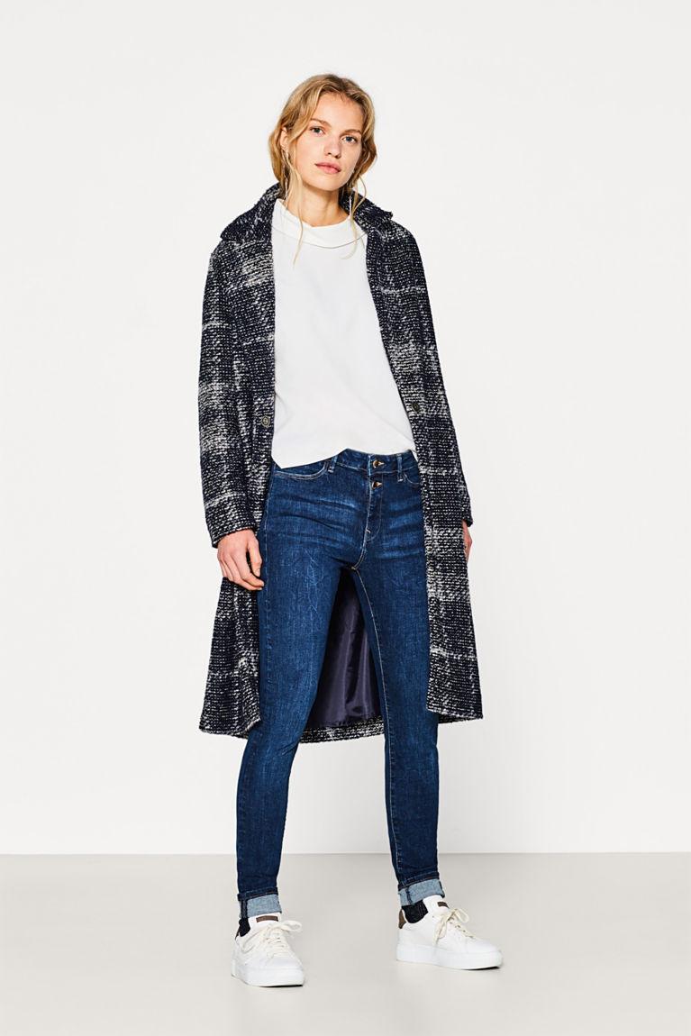 Shaping-Jeans mit hohem Bund