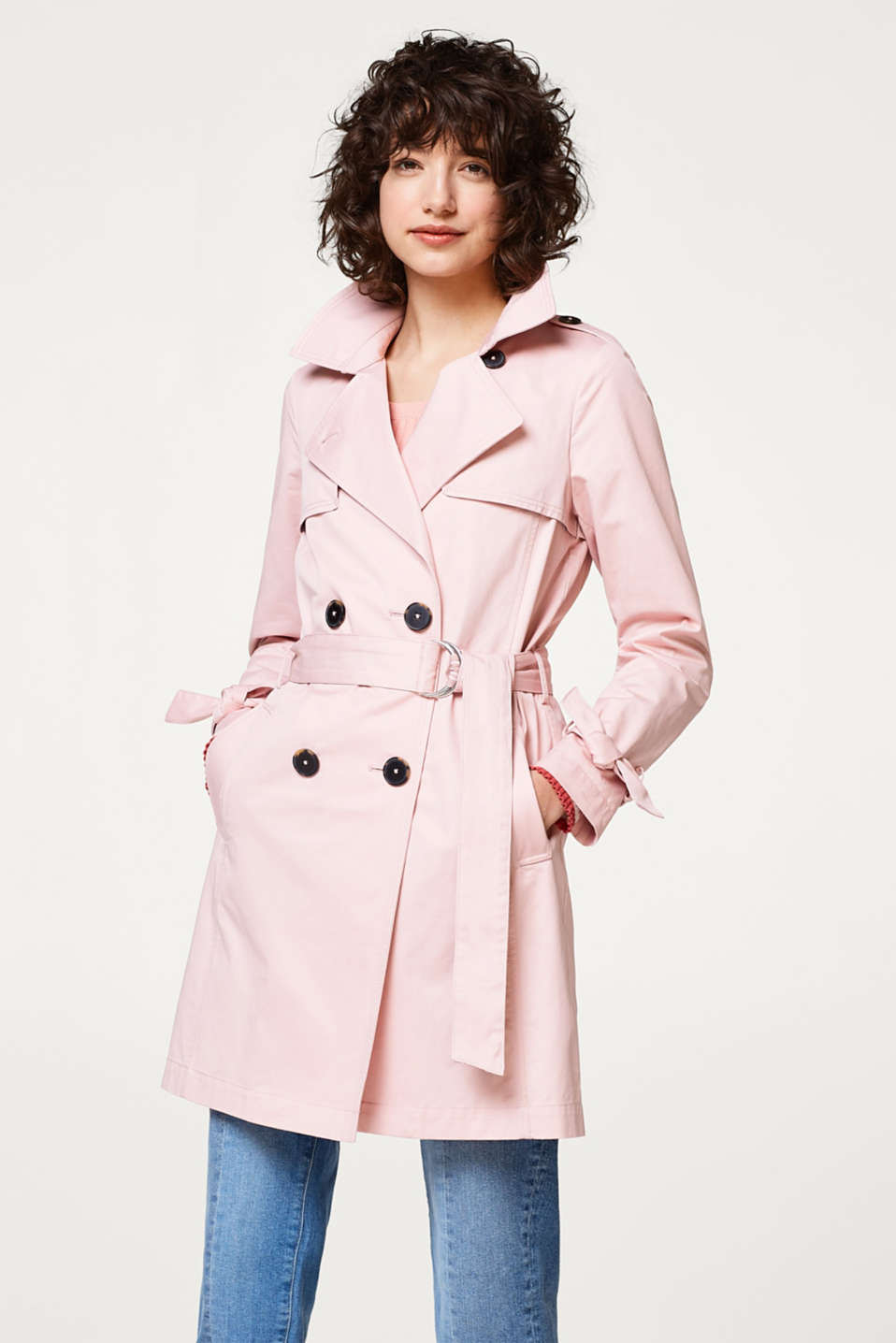 edc - Trench-coat intemporel en coton