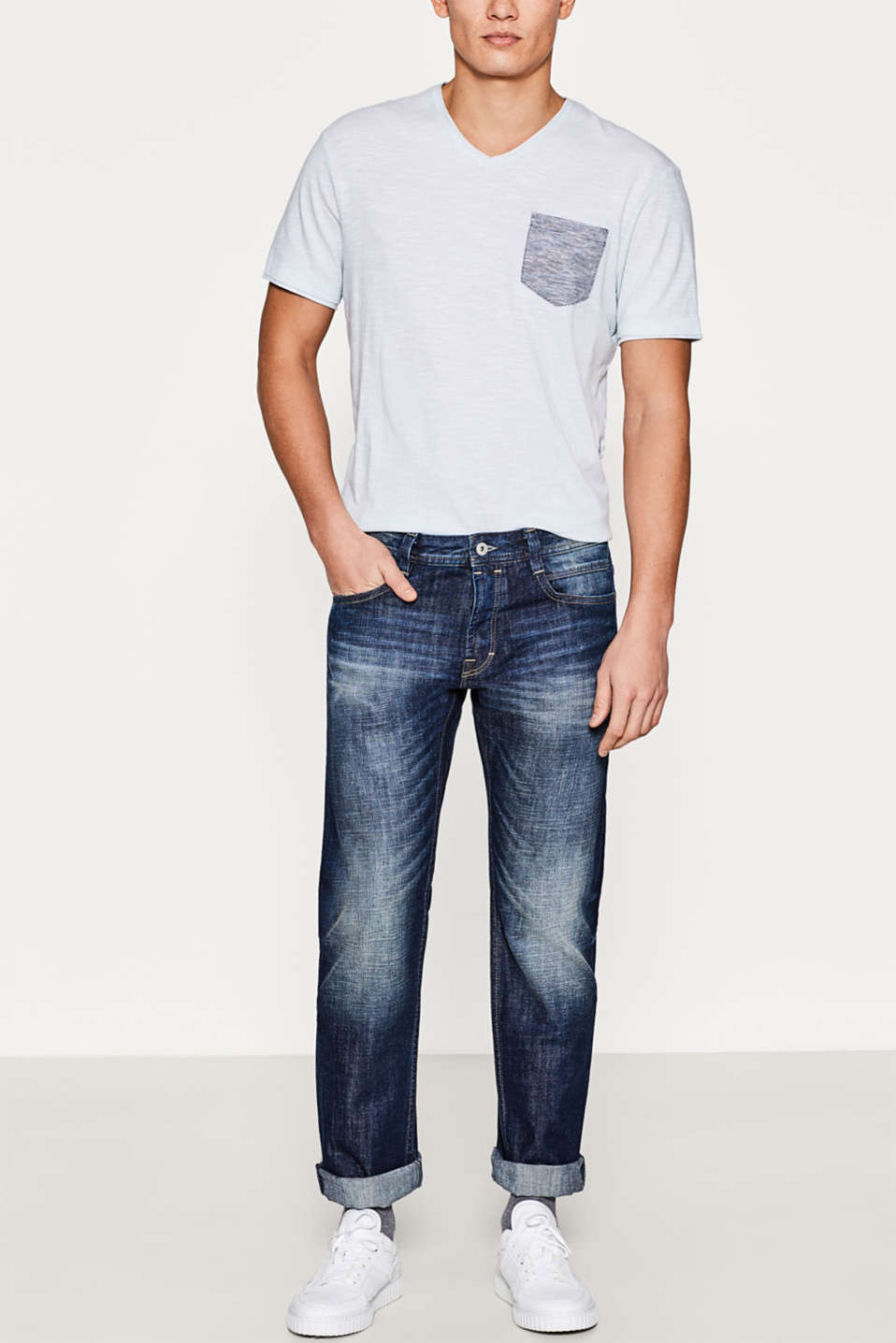 edc - 5-pocket washed jeans