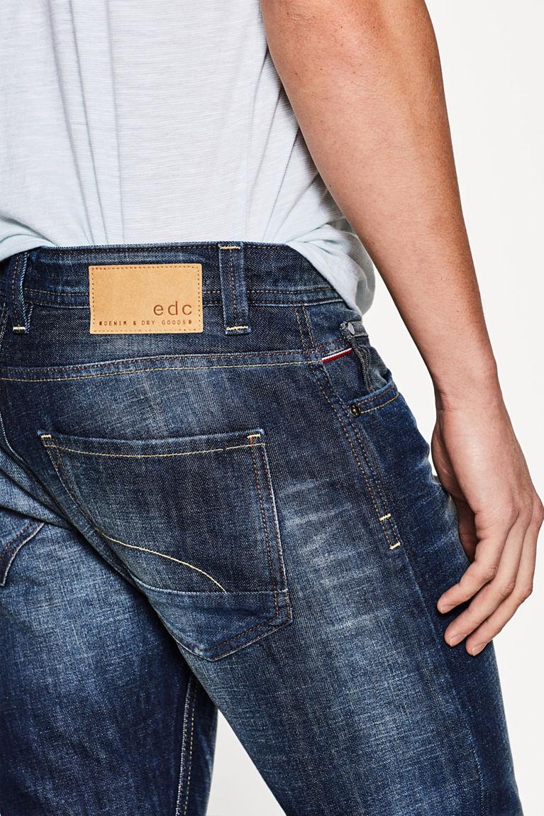 5-Pocket-Jeans mit Waschung