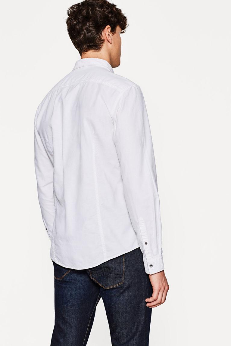 Hemd aus dichtem Baumwollgewebe
