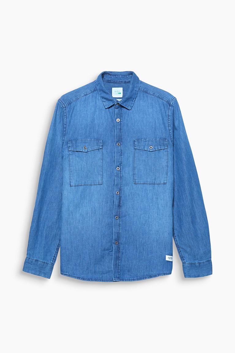 Denim-Hemd aus Organic Cotton