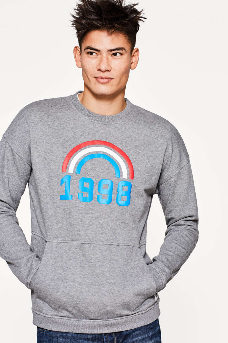 edc - Sweatshirt in organic cotton