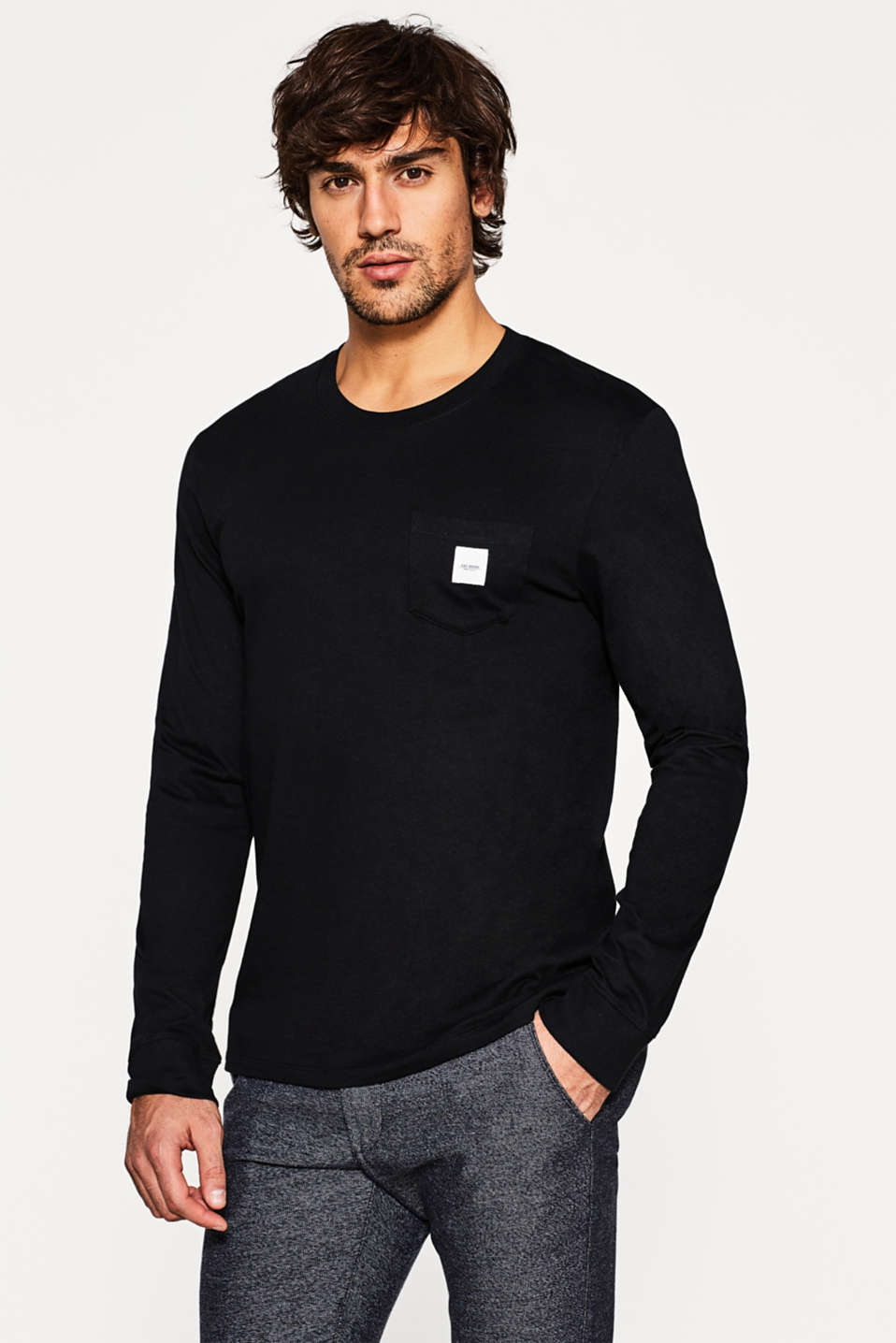 edc - Basic jersey long sleeve top
