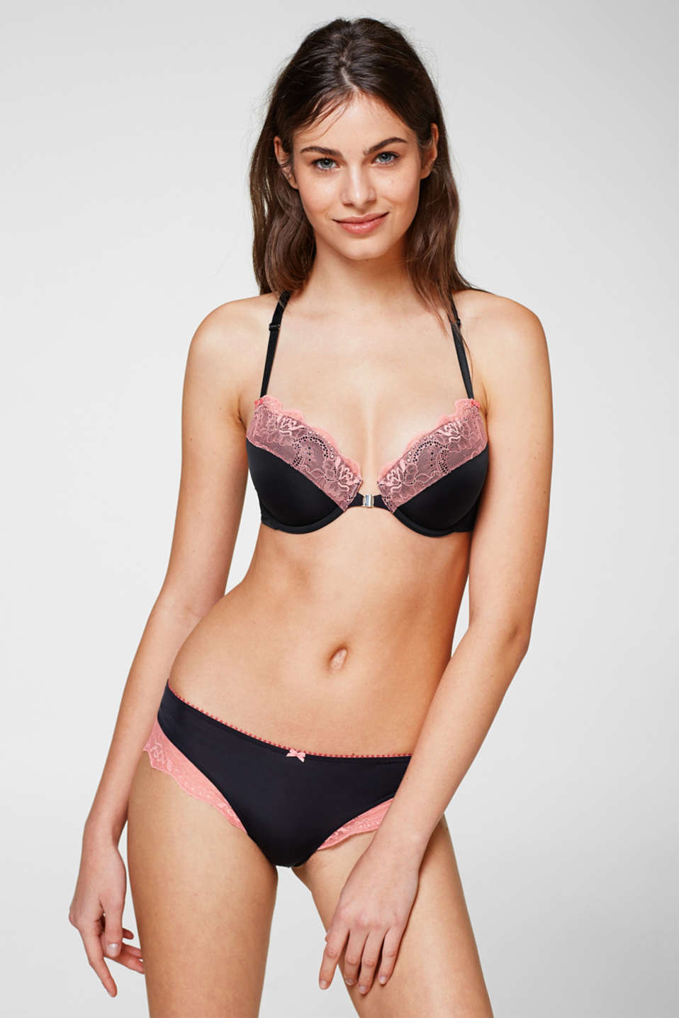 edc - Racer back bra with contrasting lace