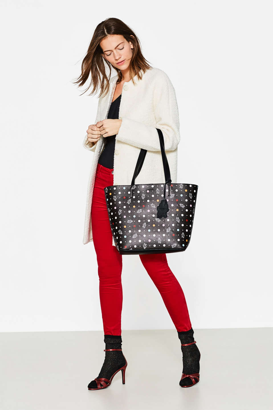 Shopper mit coolem Print