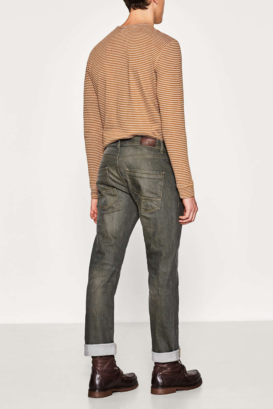Stretch jeans with a distinctive wash