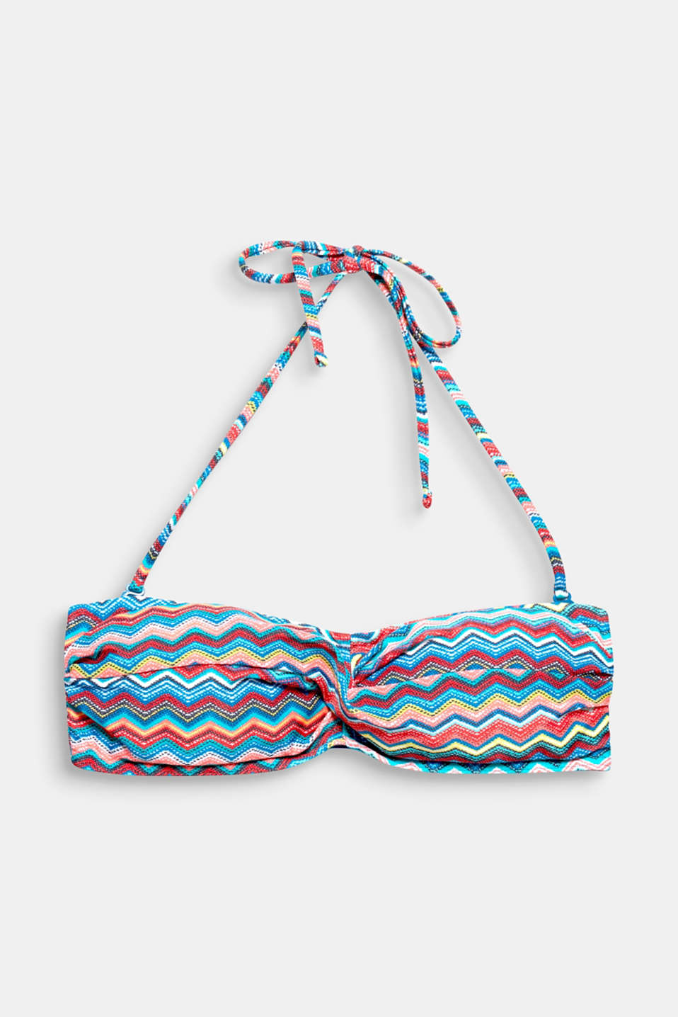 Collection ROYAL BEACH - Ce SG bandeau ouatiné doit son look estival à son imprimé coloré en zigzag !
