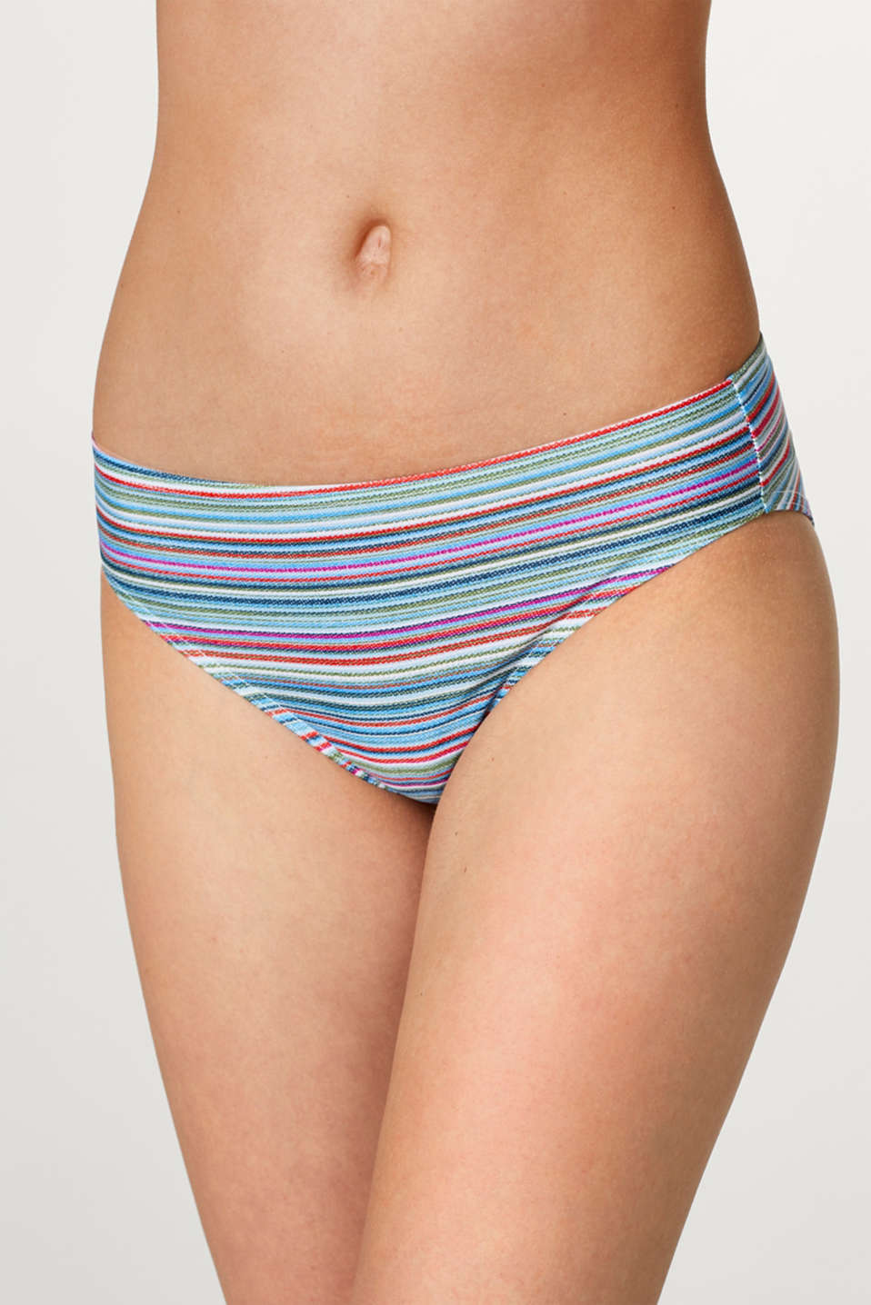 Esprit - Comfy briefs with multicoloured stripes