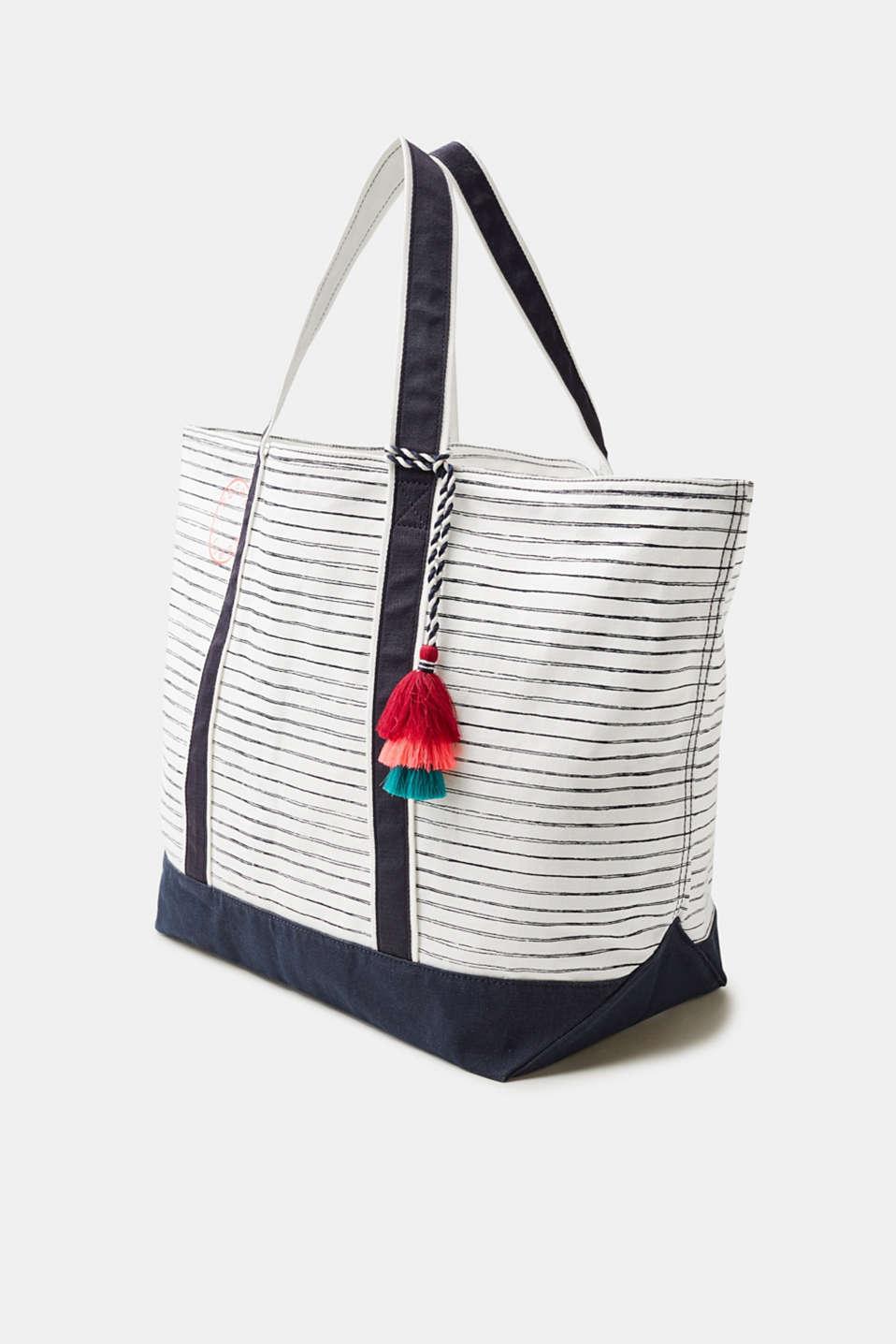 Esprit sac de plage en toile de coton acheter sur la for Toile de plage ikea