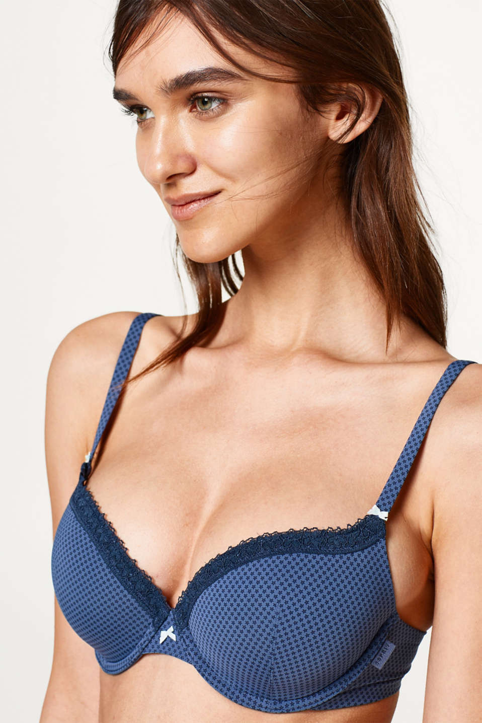 Esprit - Padded bra with multi-way straps