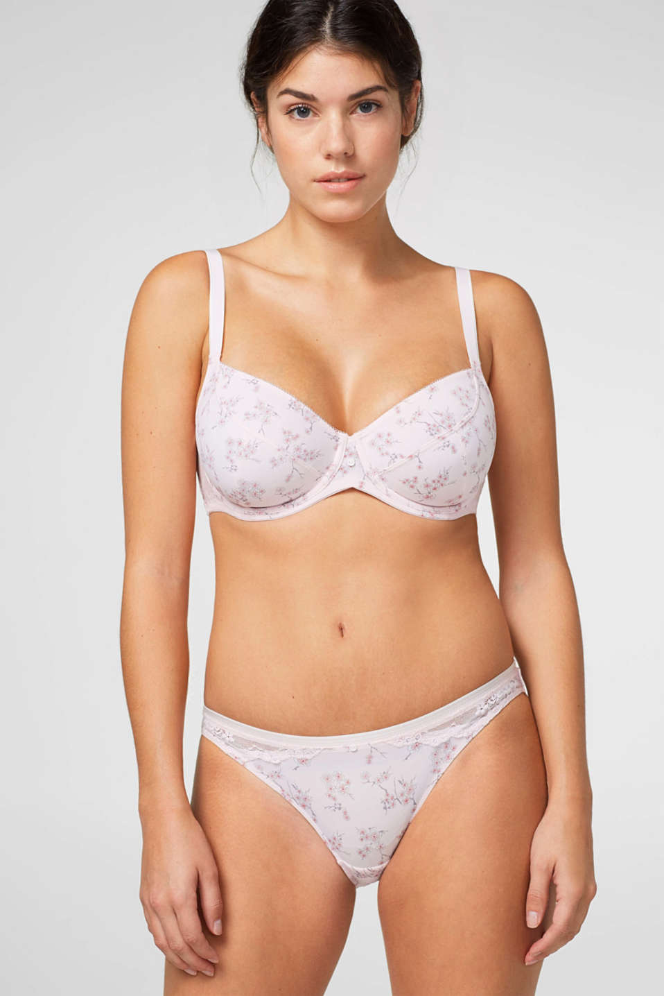 Esprit - Unpadded underwire bra for big cups
