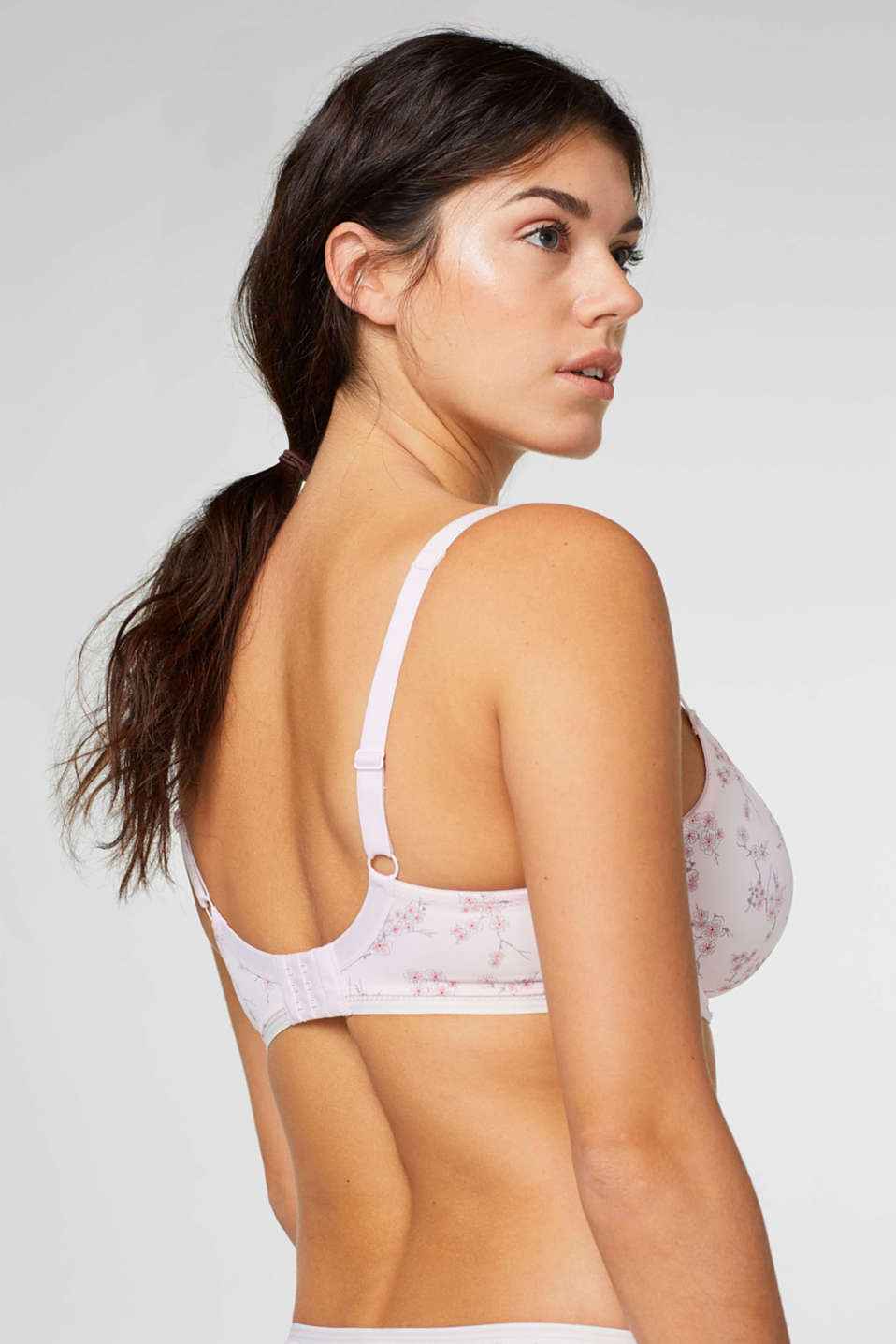 Unpadded underwire bra for big cups