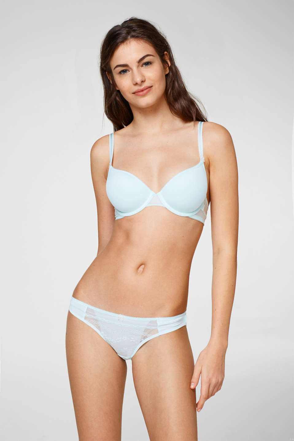 Esprit - Padded underwire bra with spacer cups