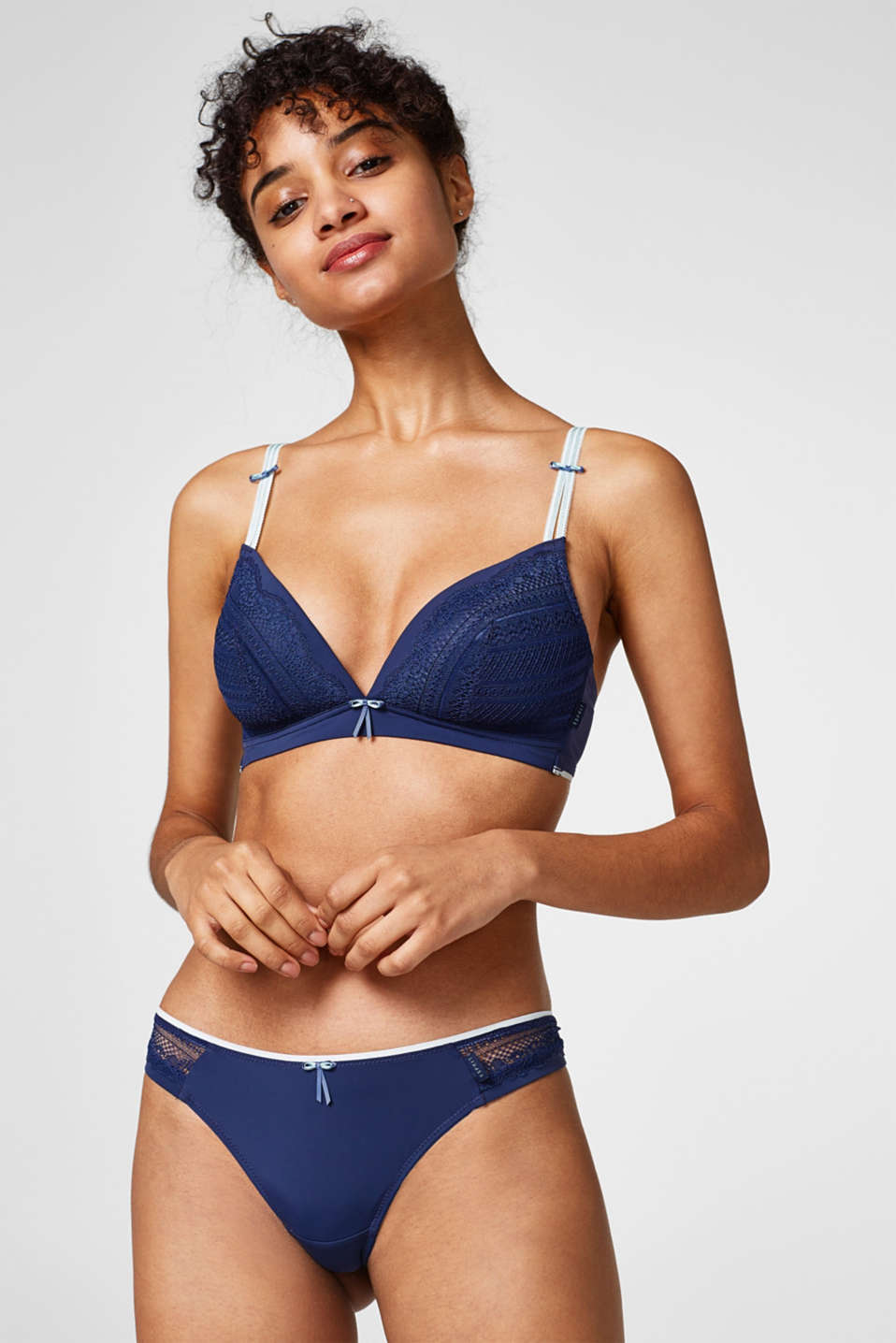 Esprit - Padded bra with multiway straps