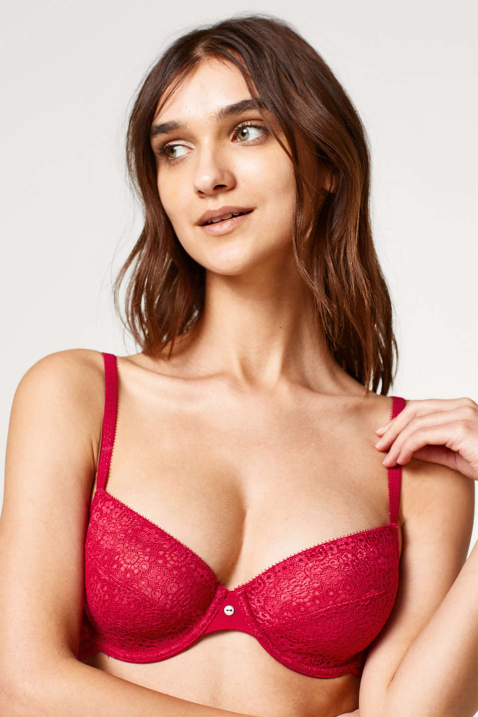 Esprit - Lace bra with multi-way straps