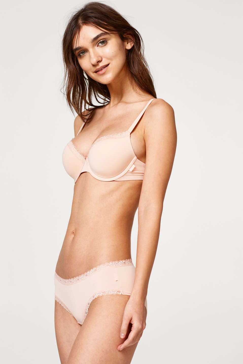 Esprit - Multi-way bra with tonal lace