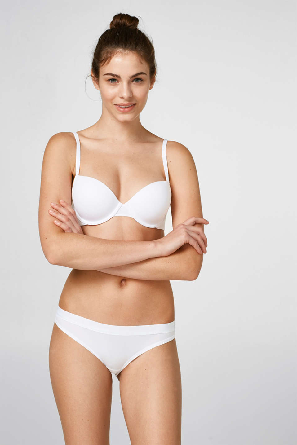 Esprit - Padded, breathable underwire bra